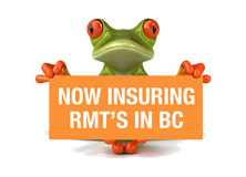 Now insuring RMT's in British Columbia